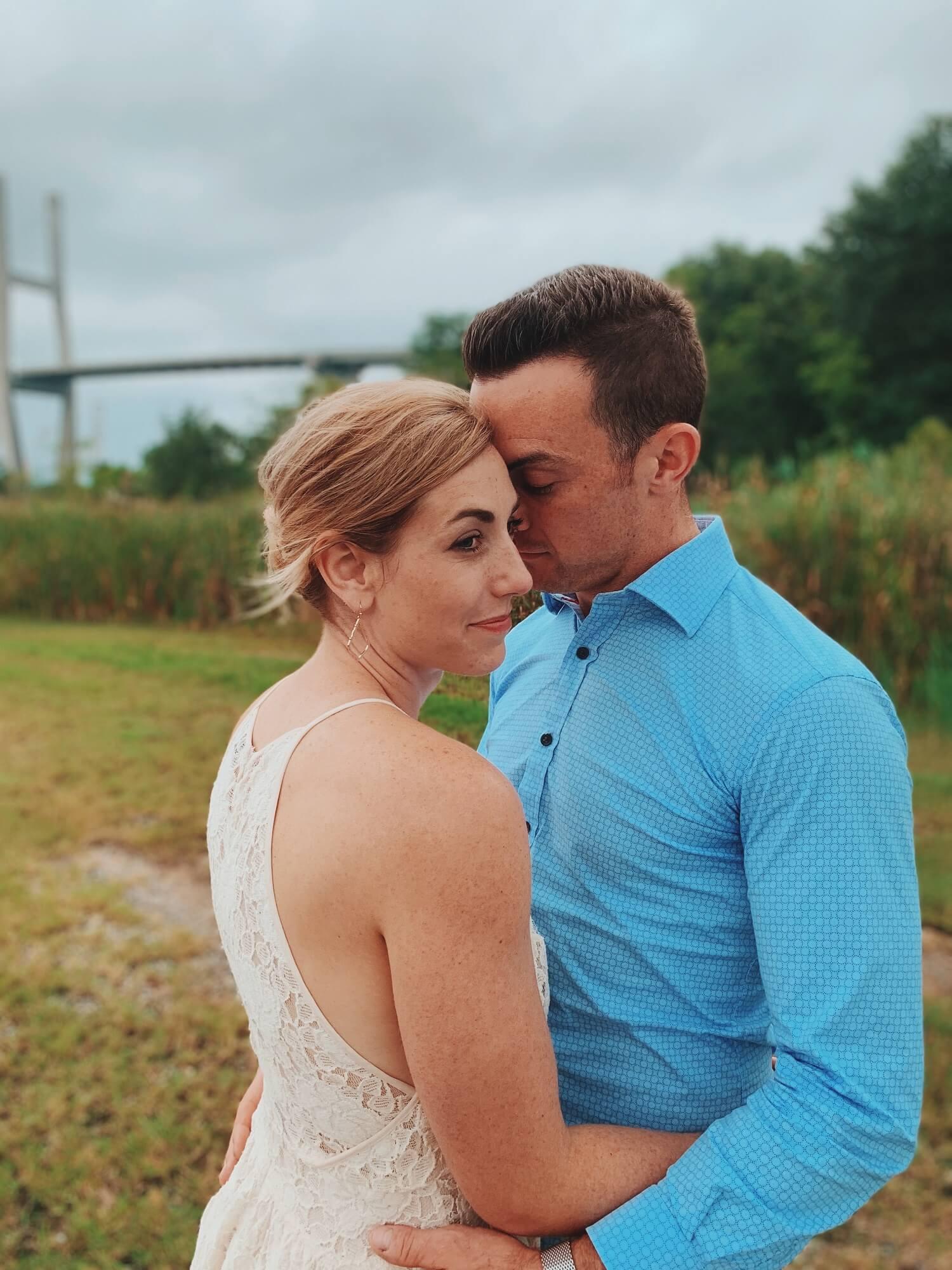 wedding before